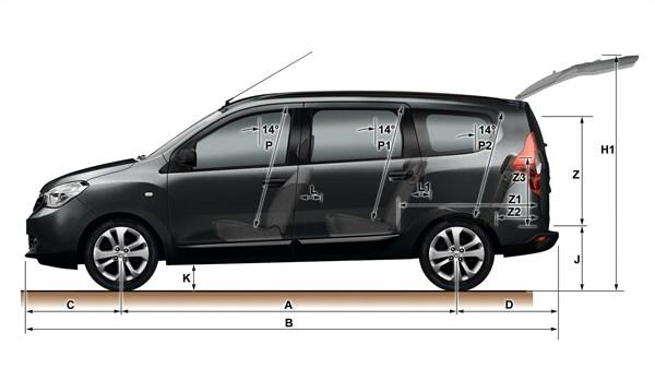 Dacia Lodgy Dimensions 002 Ig W600 H337