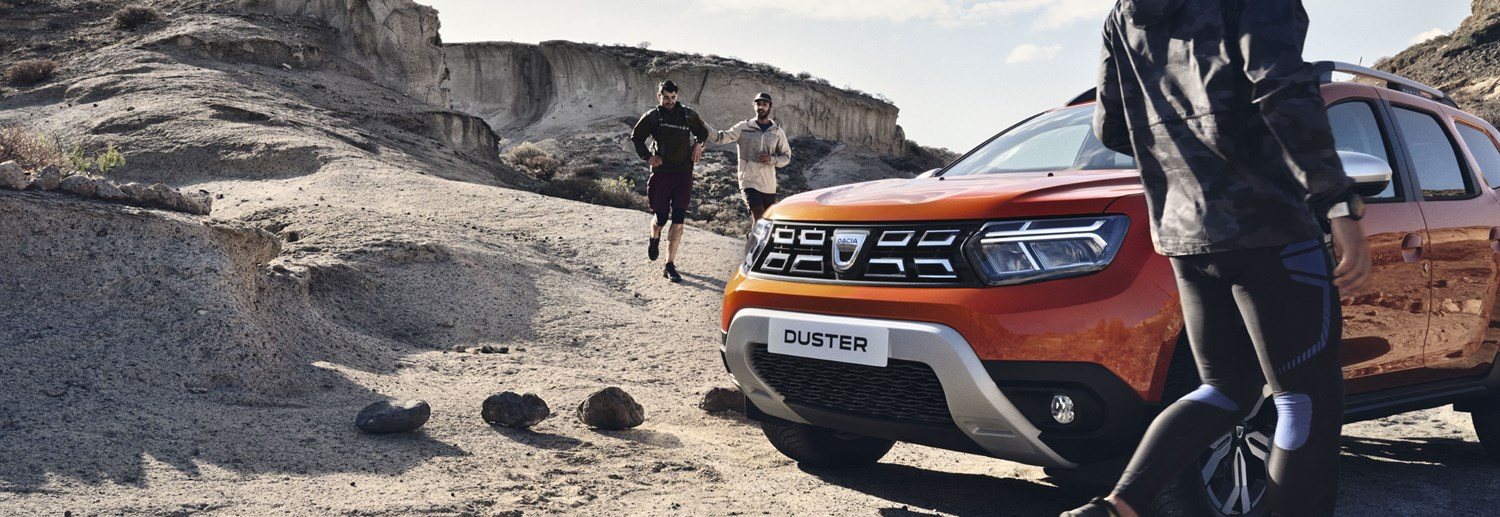 All New Duster Banner